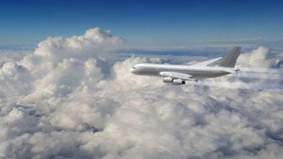 flugverfolgung wolken