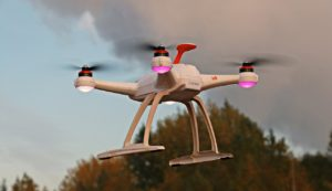 Flugverfolgung Drohne