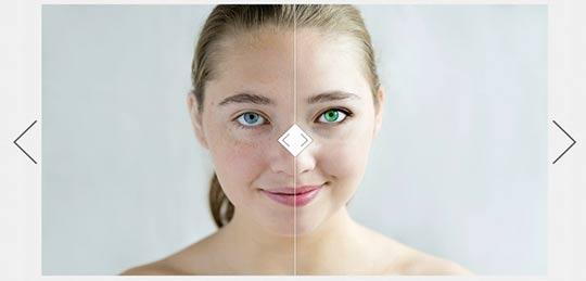 Gesicht Bildbearbeitung Movavi