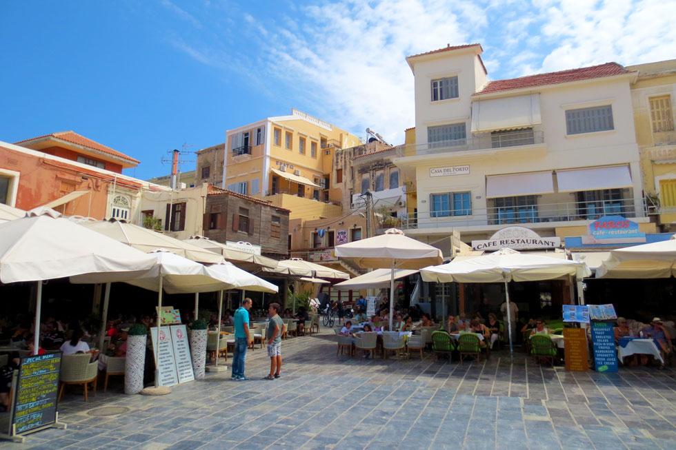 kretische Stadt Chania