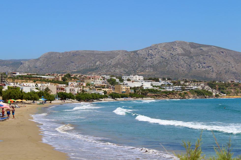 Urlaubsort auf Kreta