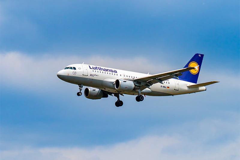 Airbus A319 von Lufthansa