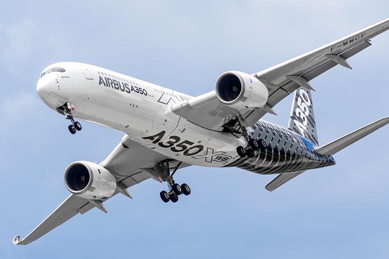 Flugzeug Airbus A350